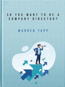 So you want to be a company director?