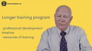 Training Staff video Business 101 Training by Tapp Advisory